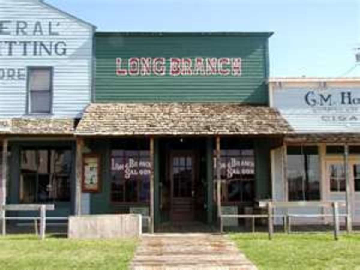 Long Branch in Dodge City, Kansas
