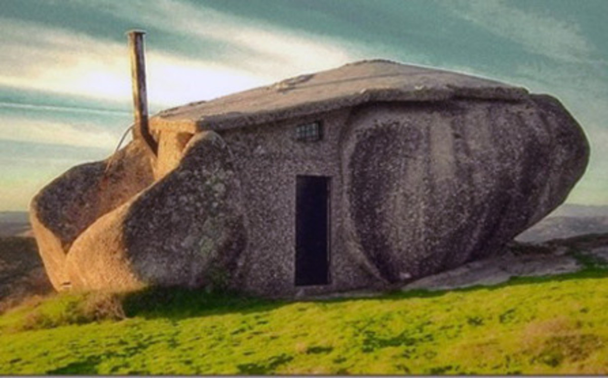 The Flintstones Real House