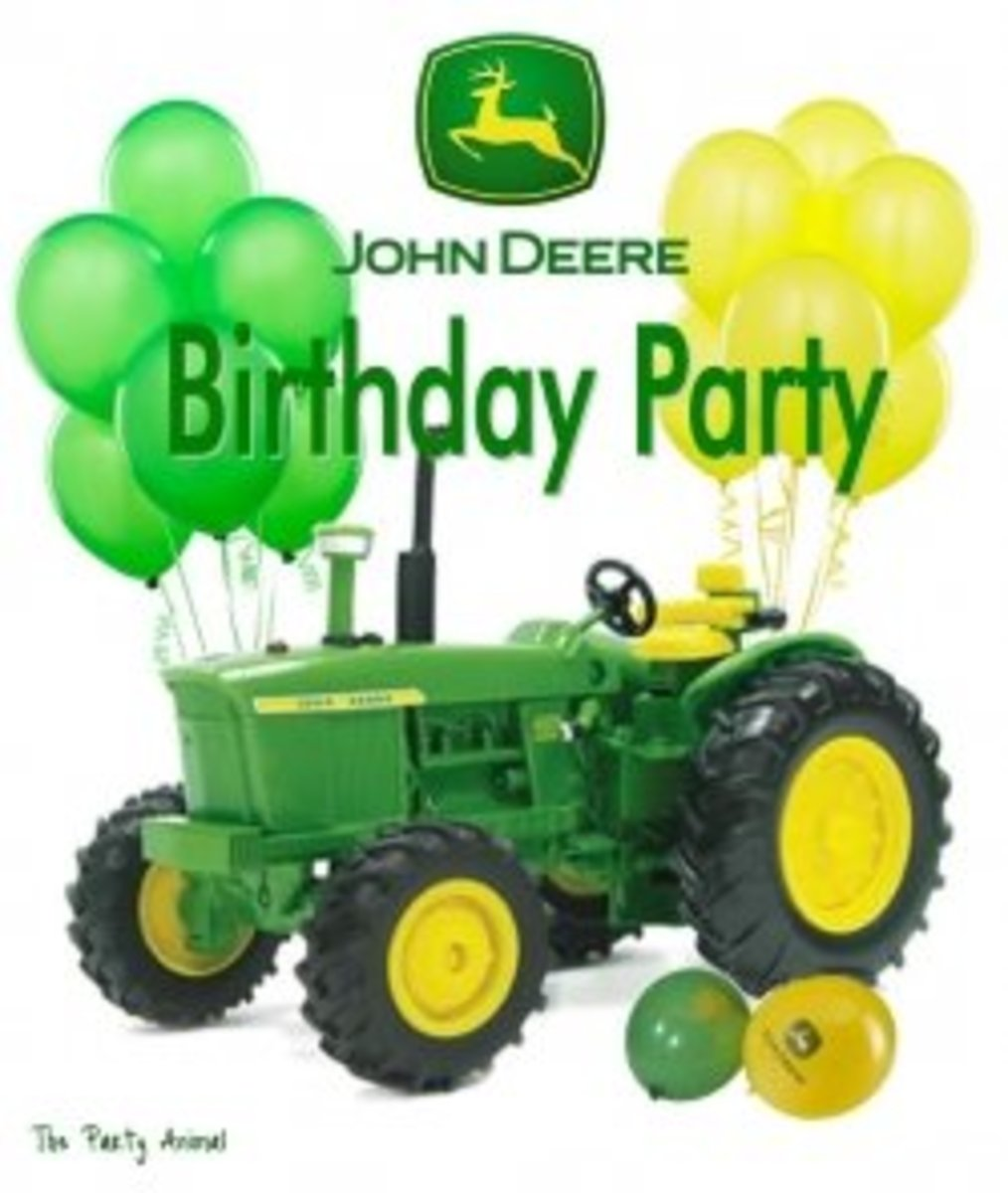 Super John Deere Tractor Birthday Cake And Cupcake Ideas Hubpages Funny Birthday Cards Online Amentibdeldamsfinfo