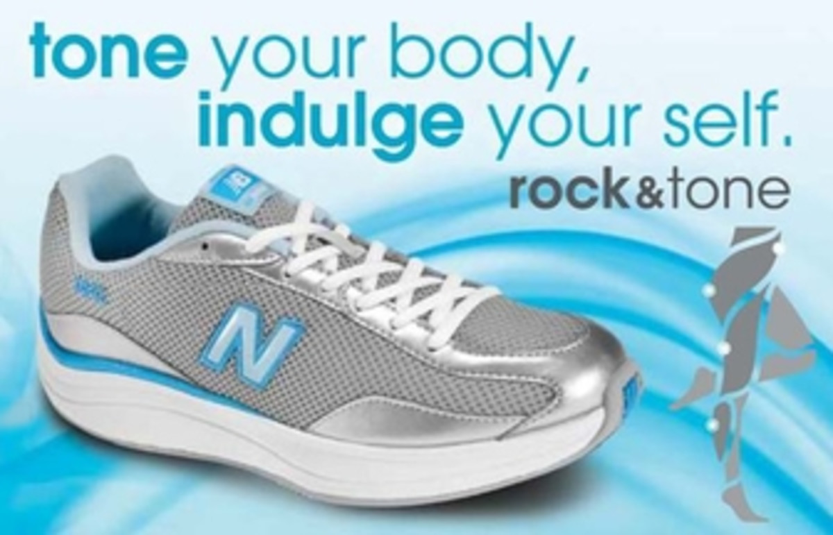 New Balance Rock&tone shoes