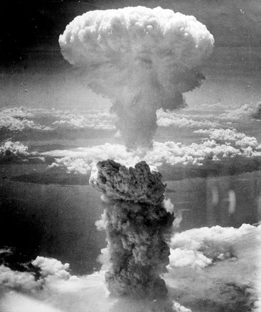 The Nagasaki, Japan, atomic bombing.