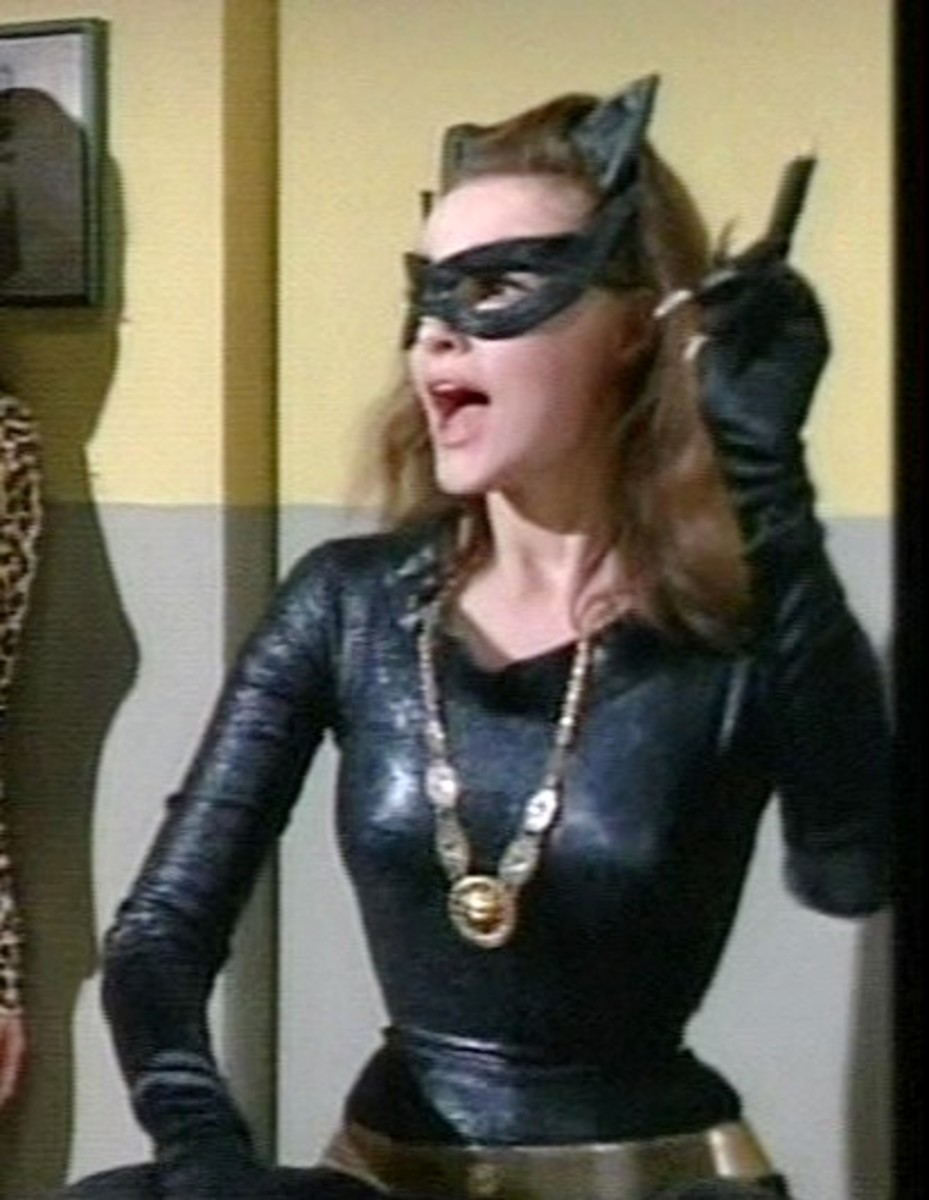 Julie Newmar from the Batman television series