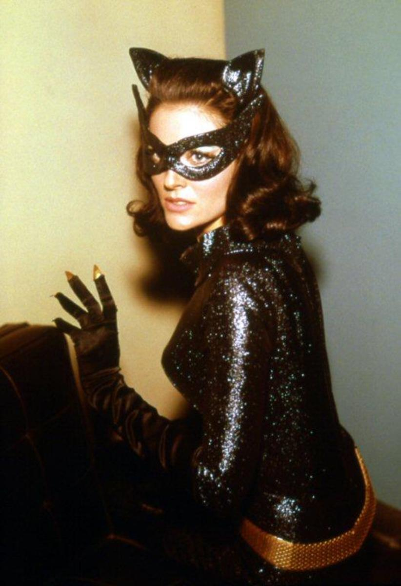 The former beauty queen was a worthy successor to Julie Newmar