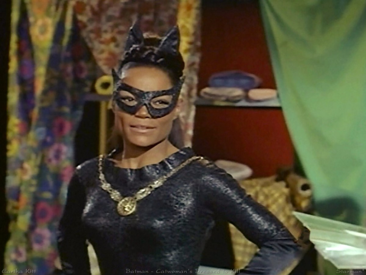 Eartha Kitt played Batman in 1968