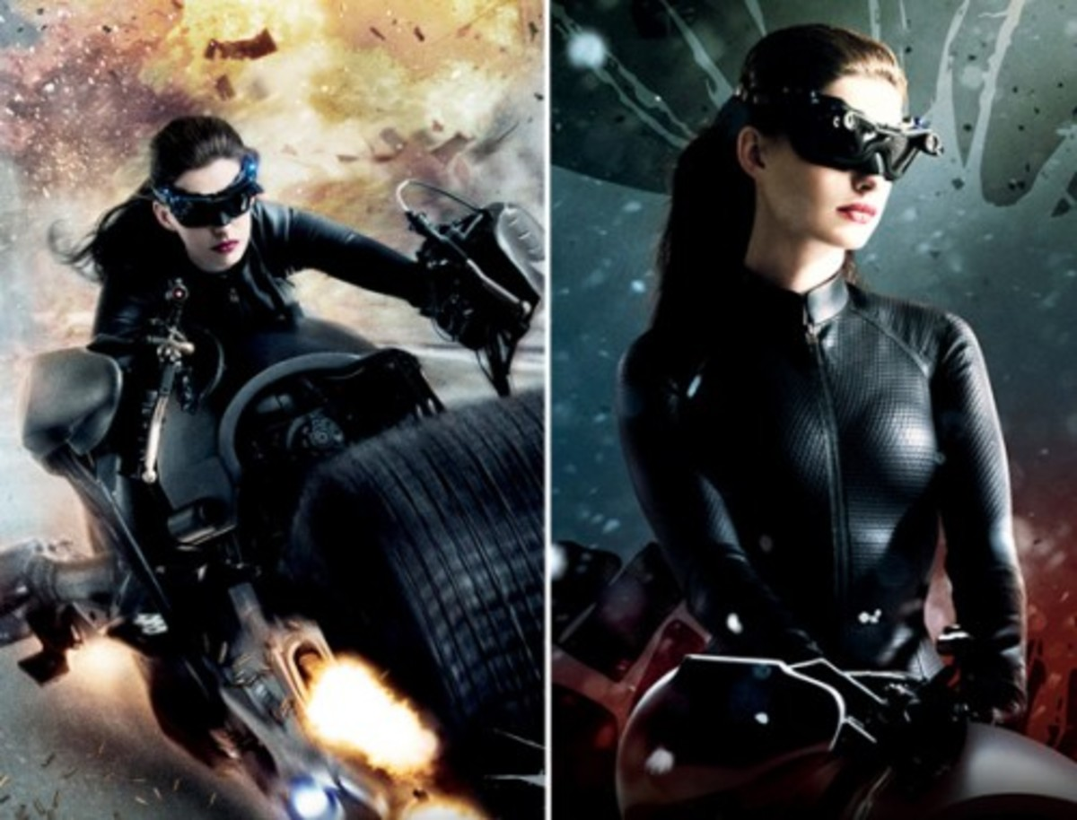 Anne Hathaway from The Dark Knight Rises