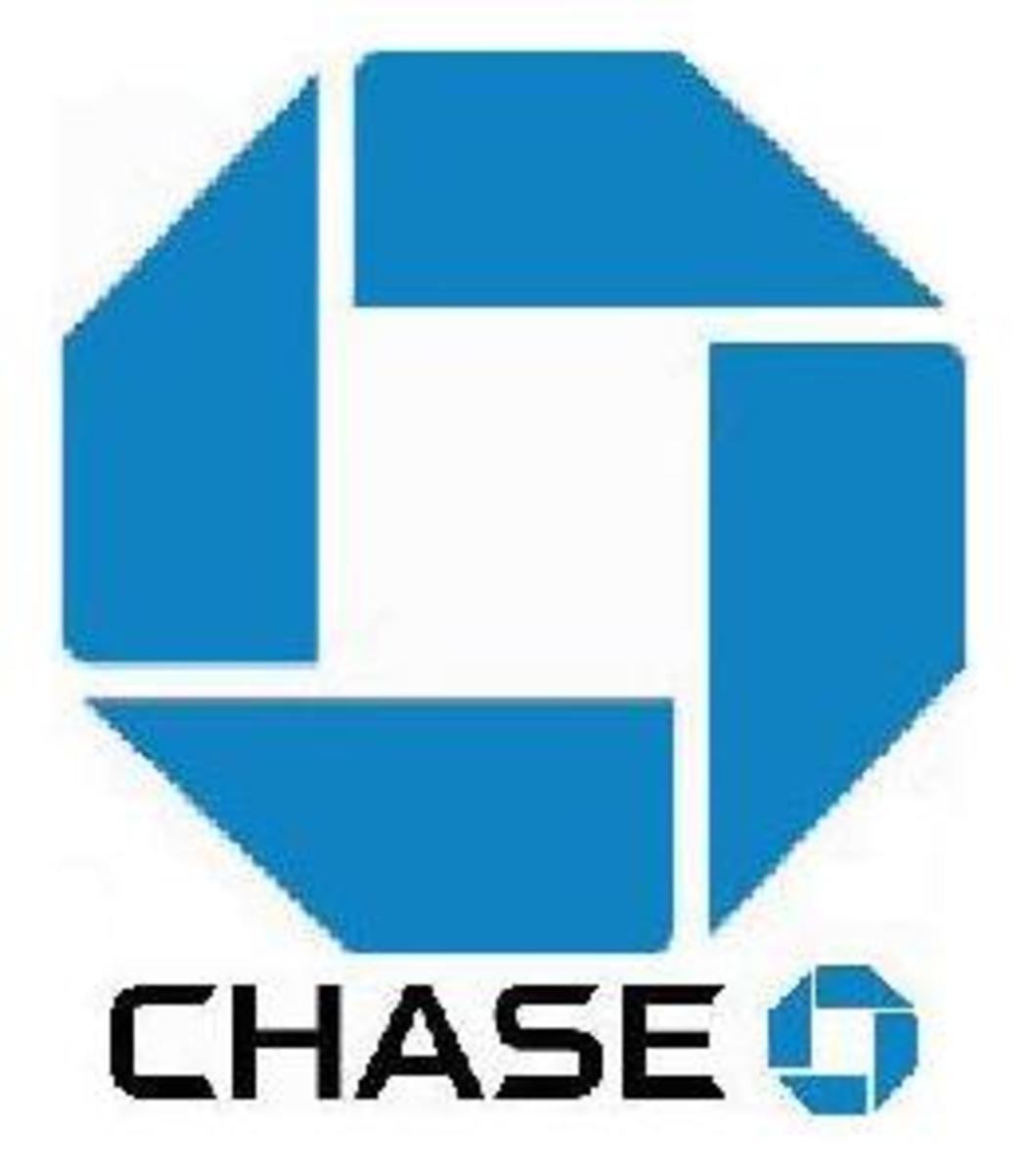 Chase Bank modified Swastika Logo