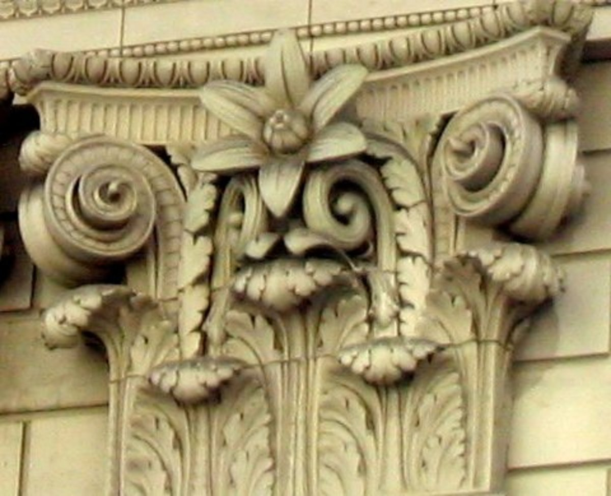 Six Petaled Flower on U.S. Bank Building