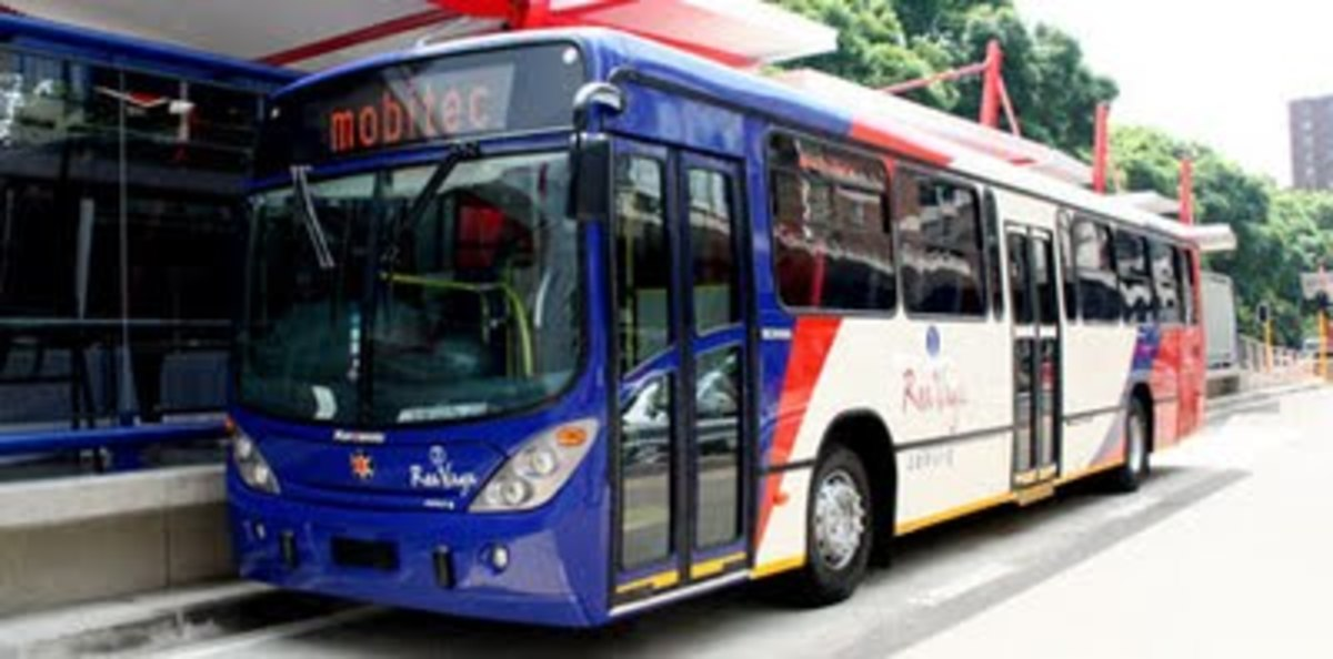 Rea Vaya Buses: New transit Bus system in South Africa