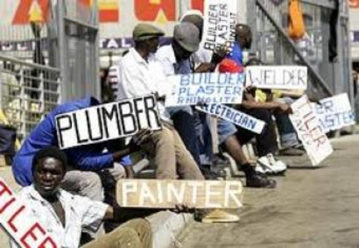 Unemployment in south Africa Could cause Youth Uprising