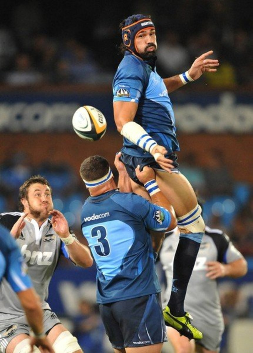 The Blue Bulls and the Crusader duke it out in the Rugby Finals match played-out in Orlando Stadium, Soweto, for the First in the history of South Africa