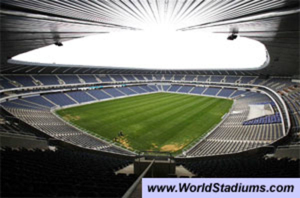 Inside Orlando Stadium, In Soweto