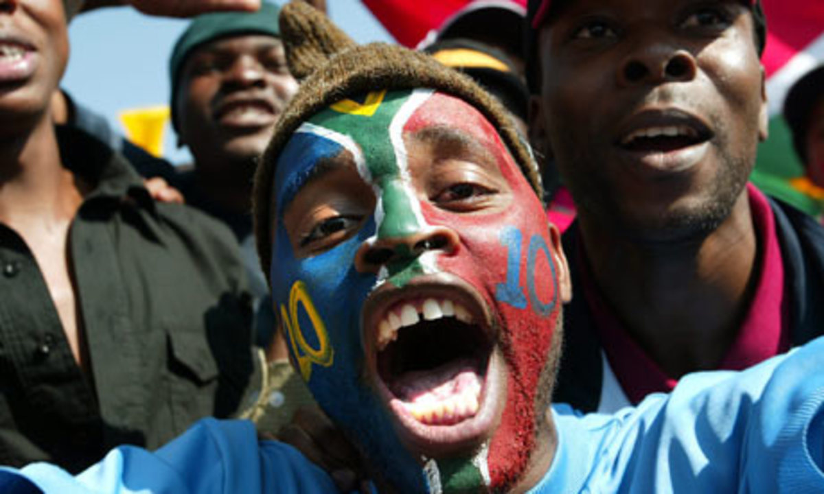 Fans with misplaced euphoria, in the face of Fifa's economical onslaught against the poor