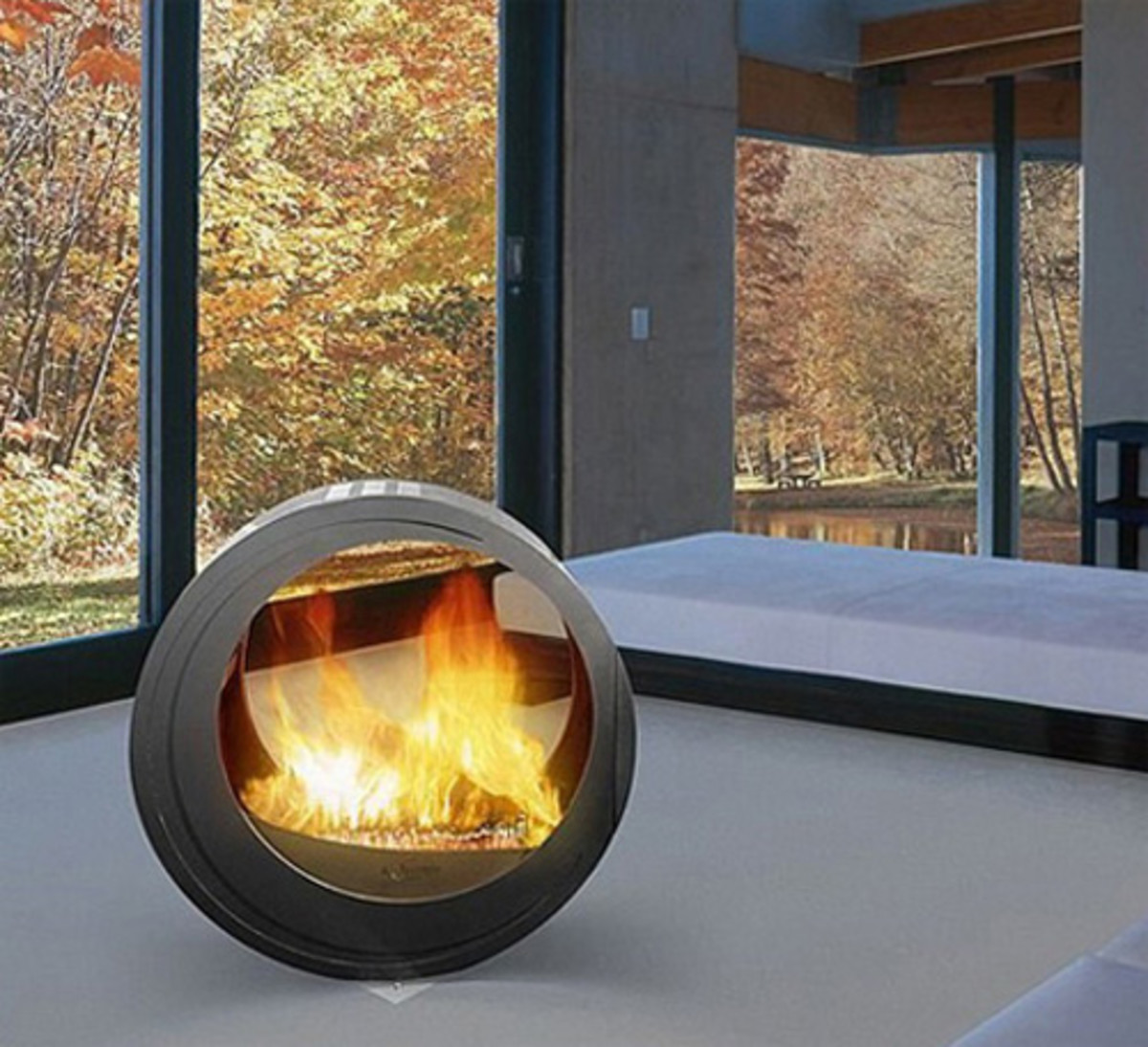 Ultra Chic Rounded Fire Pits