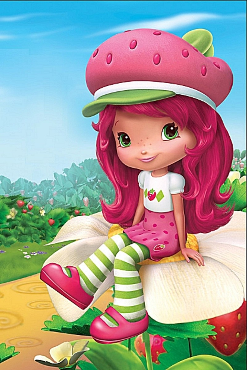 Strawberry Shortcake Coloring Pages Color Example