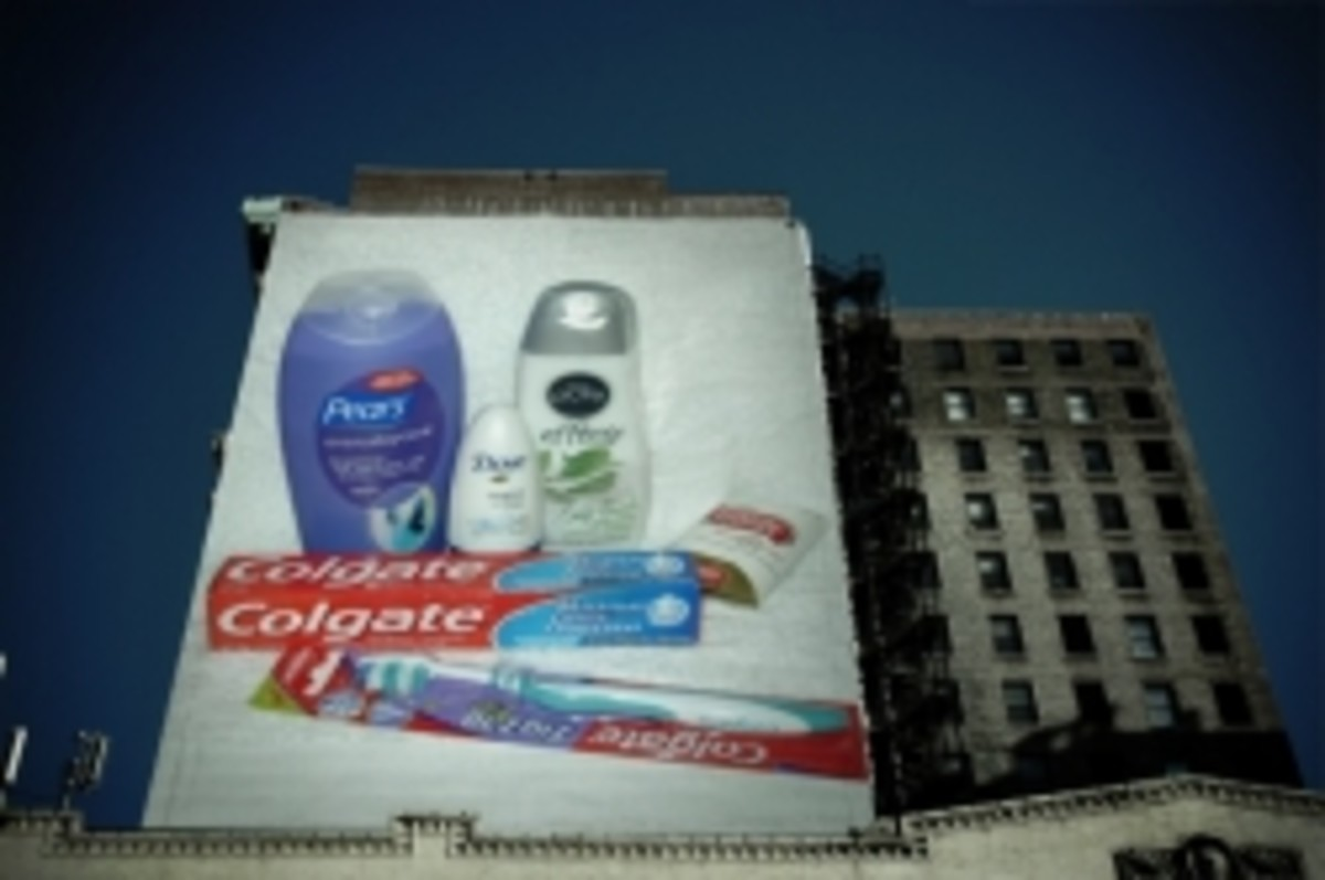 Charity Toiletry Kit Billboard