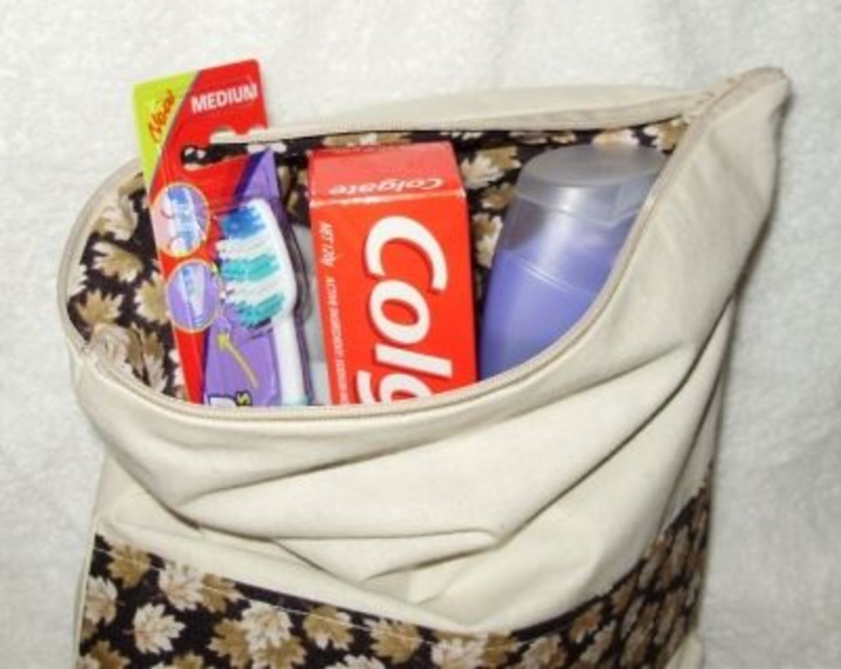 Example Charity Toiletry Kit