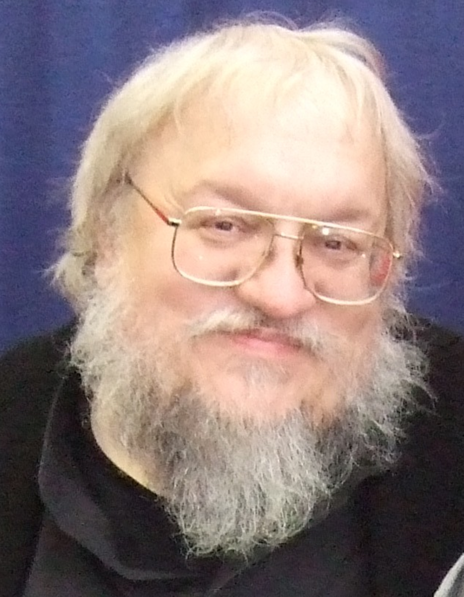 George RR Martin at the Comicon, photo by Bree Chan