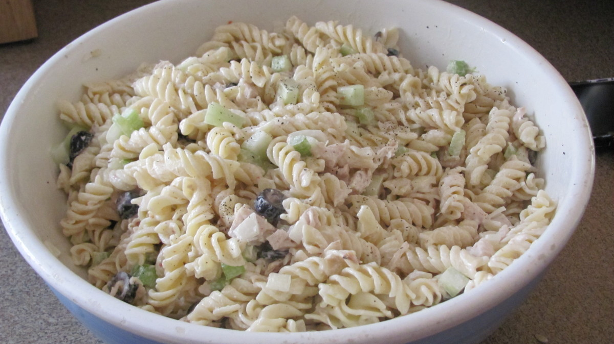 My Awesome Pasta Chicken Salad