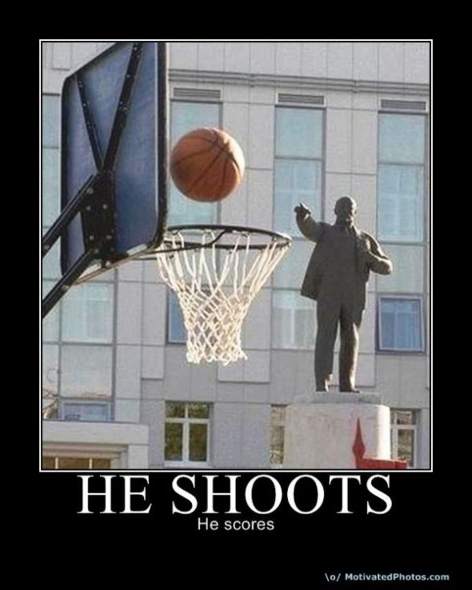 basketball, statue, shoots, freethrow, throw, bball, demotivational, posters, humor, jokes, comedy, funny, lol