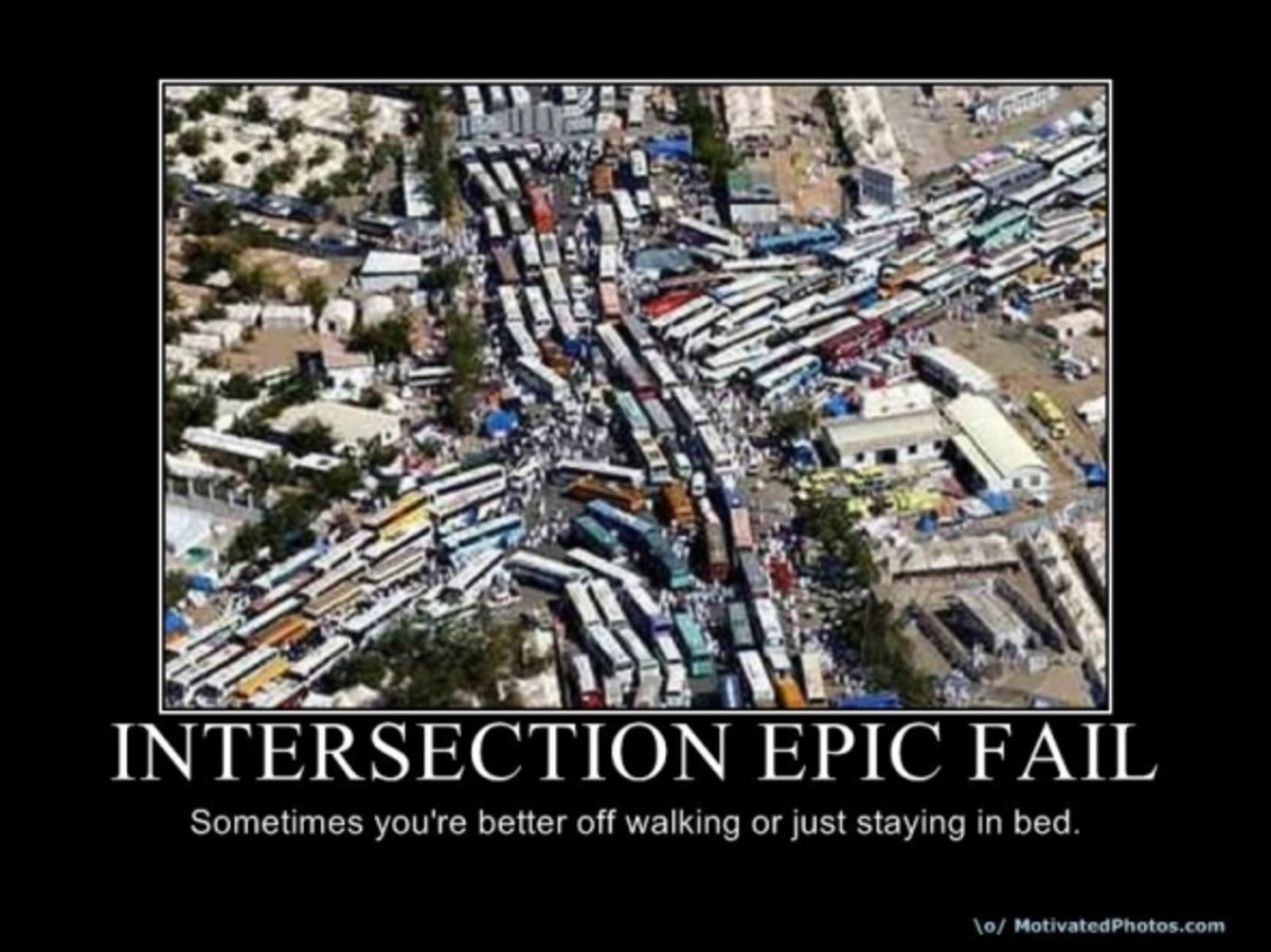 traffic, driving, intersection, city, demotivational, posters, humor, jokes, comedy, funny, lol