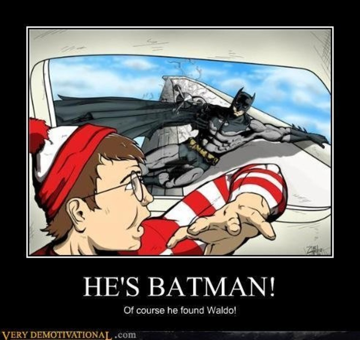 waldo, wheres waldo, batman, humor, jokes, comedy, funny