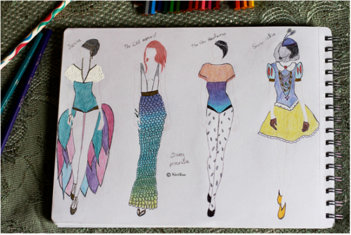 guide to designing mermaid characters