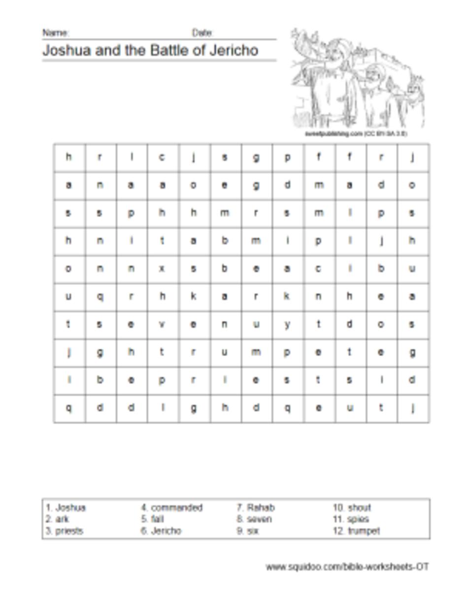 Old Testament Worksheets Hubpages