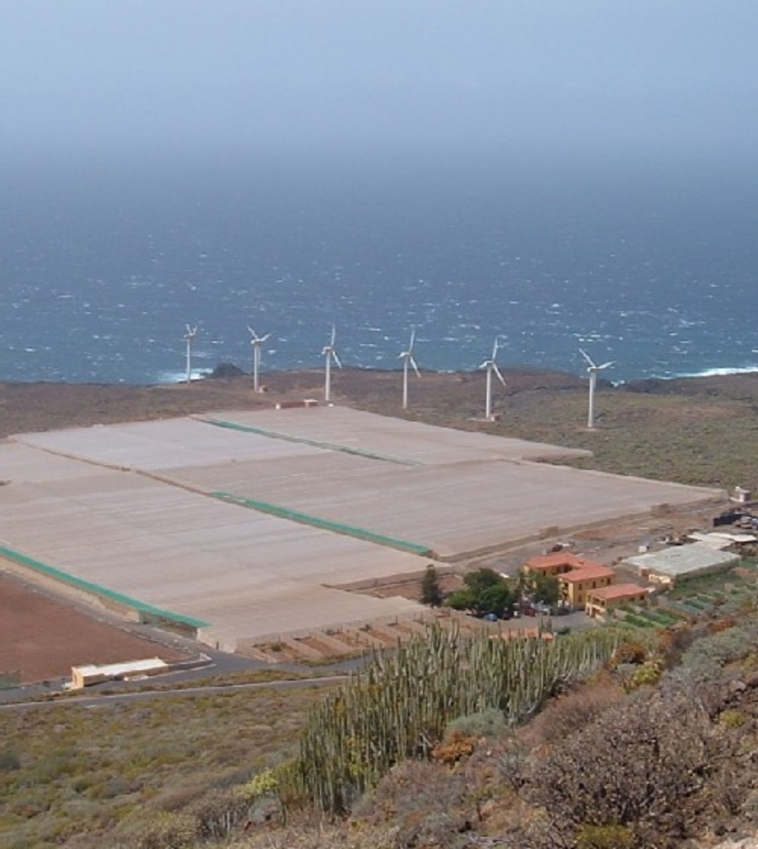 Teno wind farm