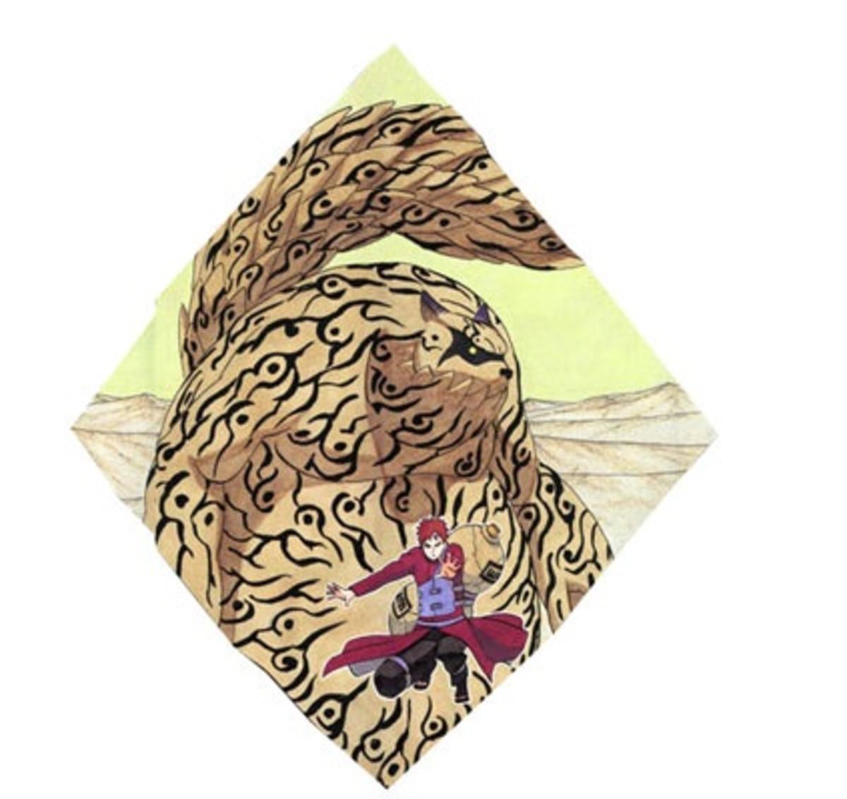Shukaku, the one-tailed Tanuki