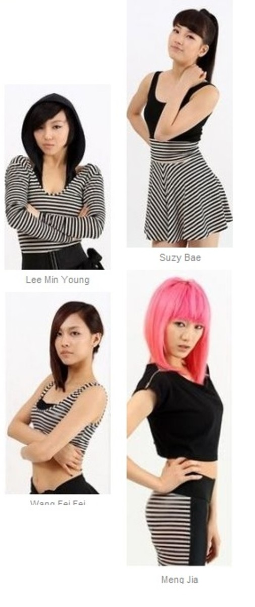 MissA kpop member profile pictures