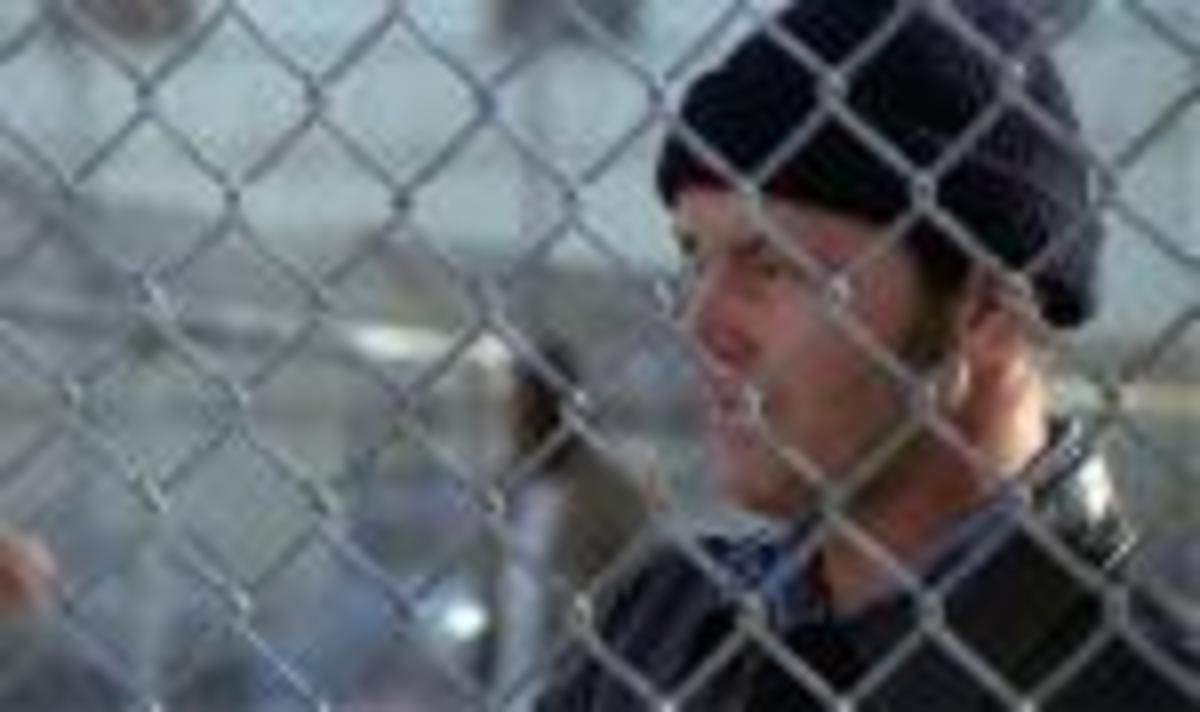 McMurphy trapped