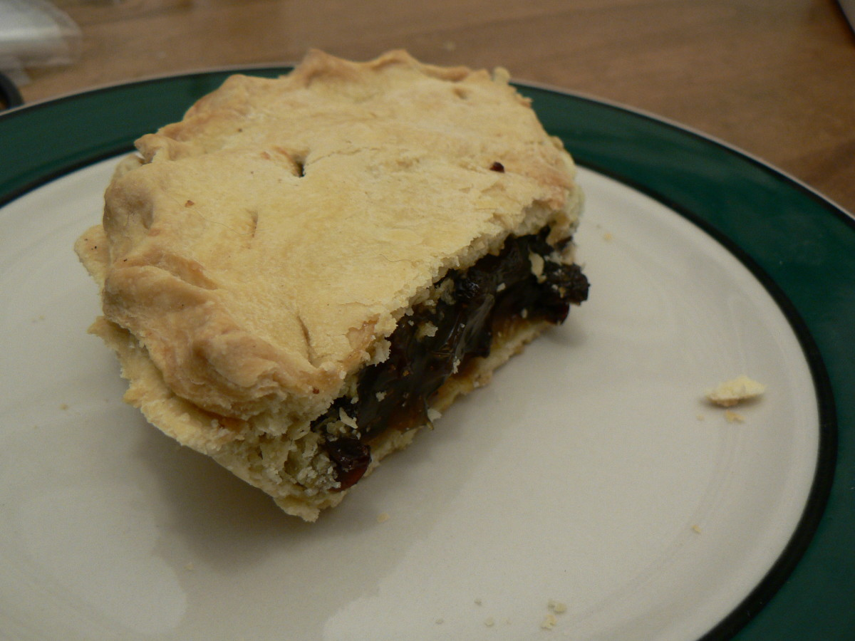 Traditional Funeral Pie