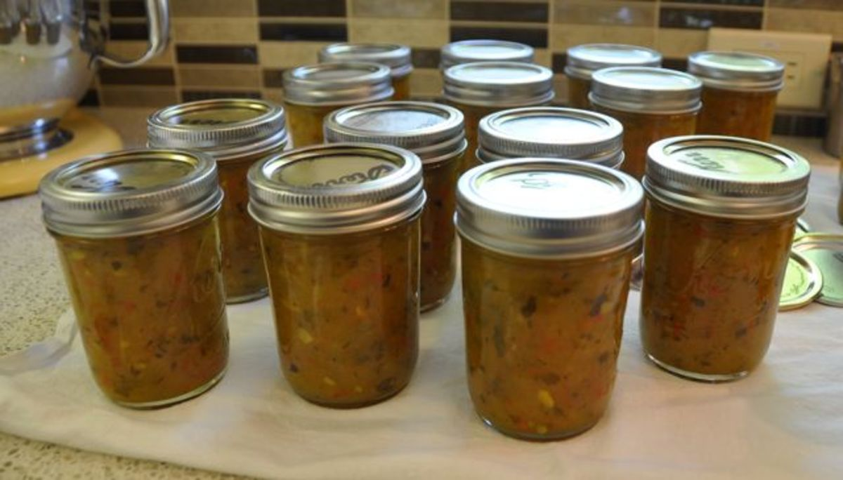 Zucchini Relish.  Photo by Heuchera.
