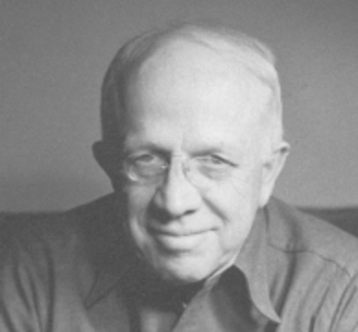 black and white photo of Howard Coleman