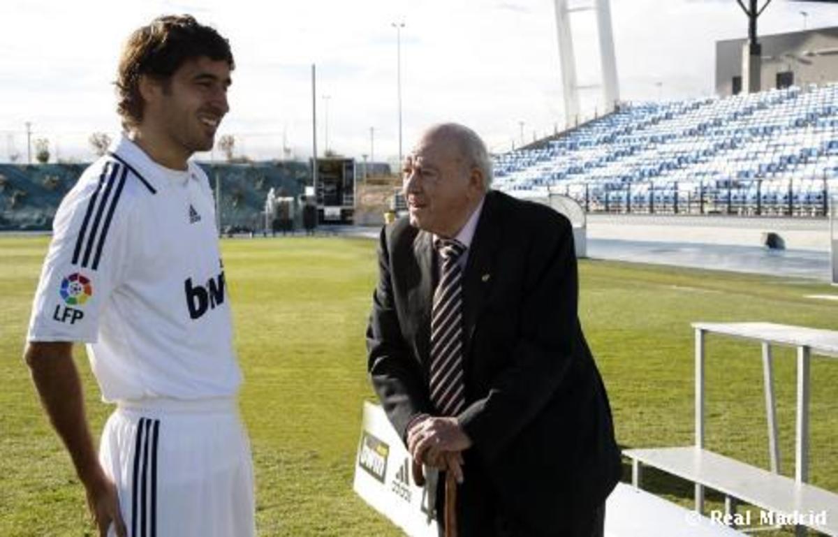 Raul and Alfredo Di Stefano