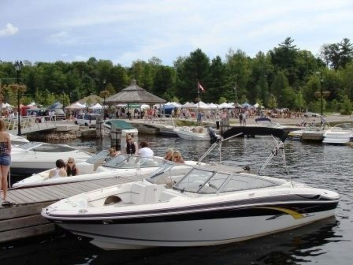 Rosseau Waterfront Park