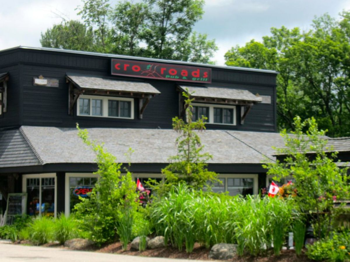 Crossroads Restaurant in Rosseau
