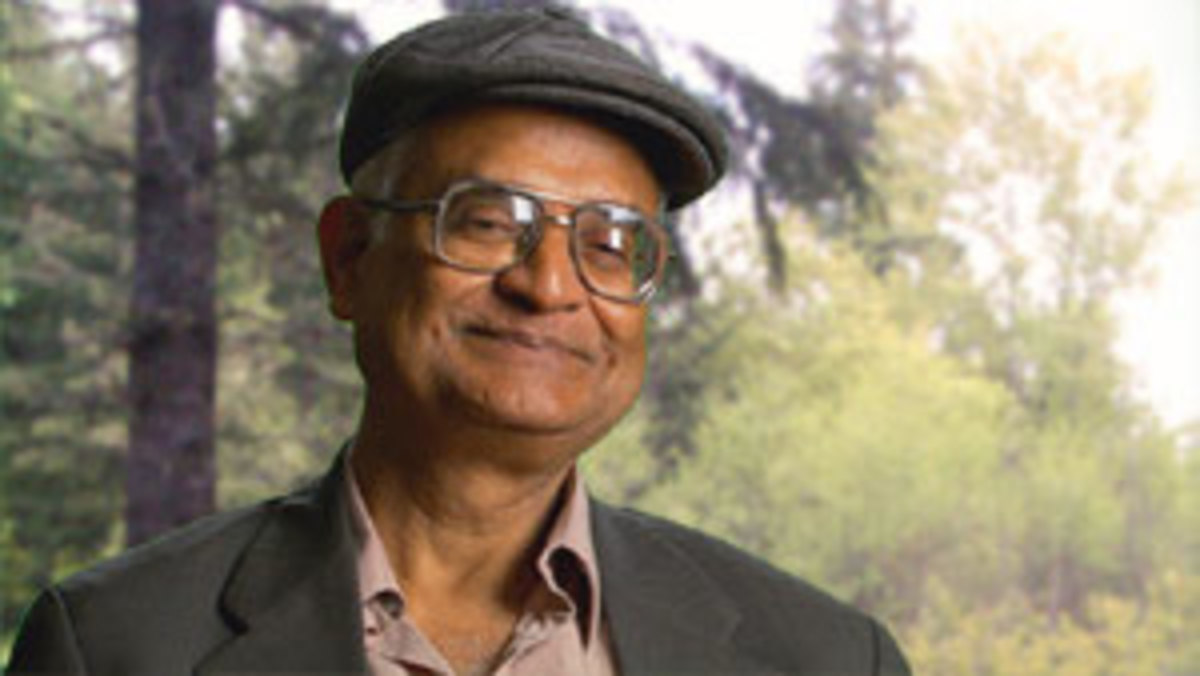 Doctor Amit Goswami, author of The Self Aware Universe