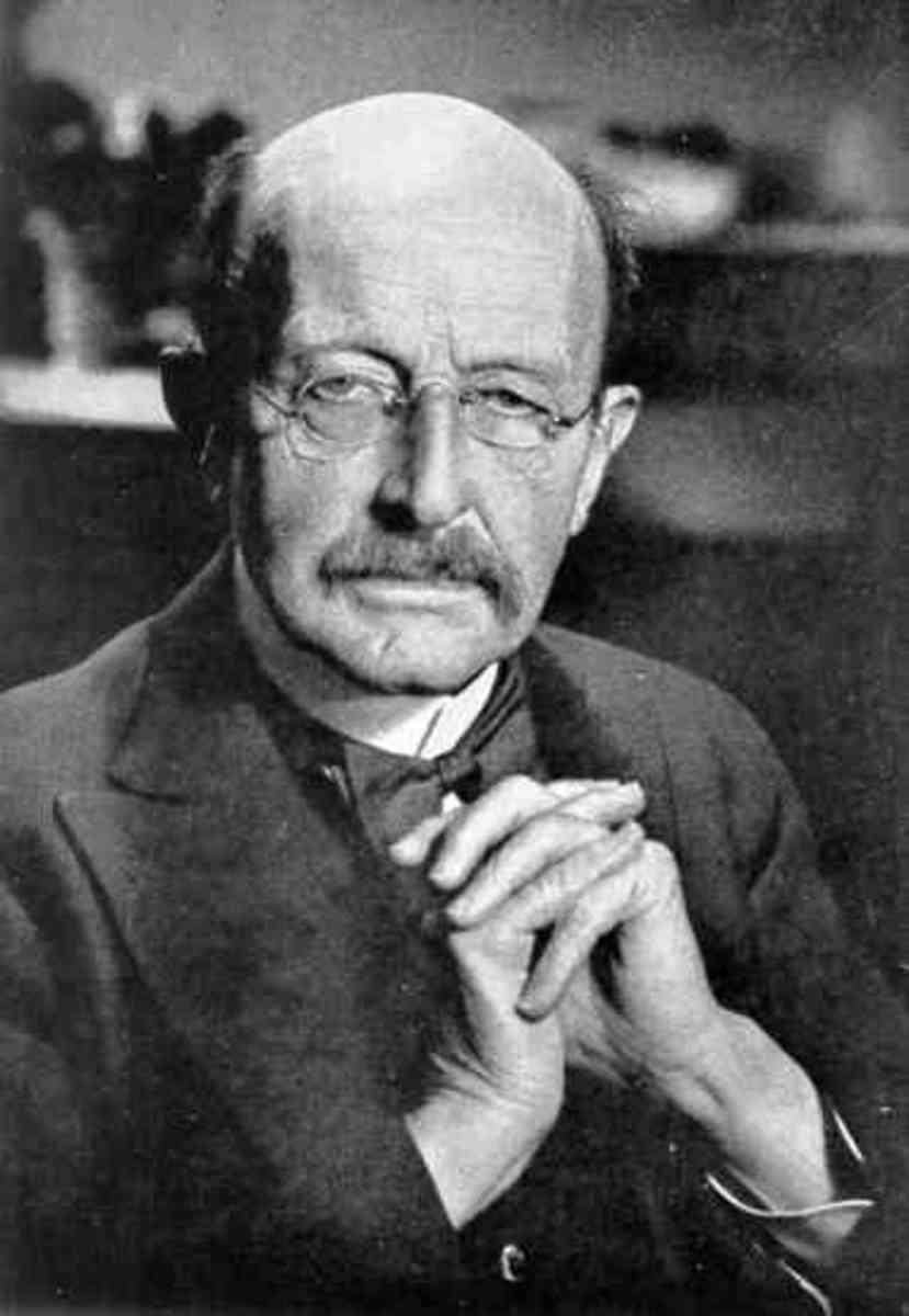 Max Planck. Another founding father of Quantum Physics