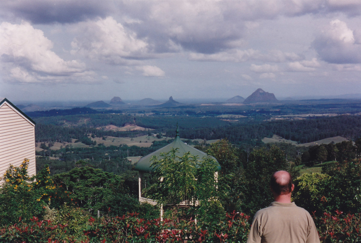 And a part of our beautiful world.  The Glass House Mountains of Queensland, Australia