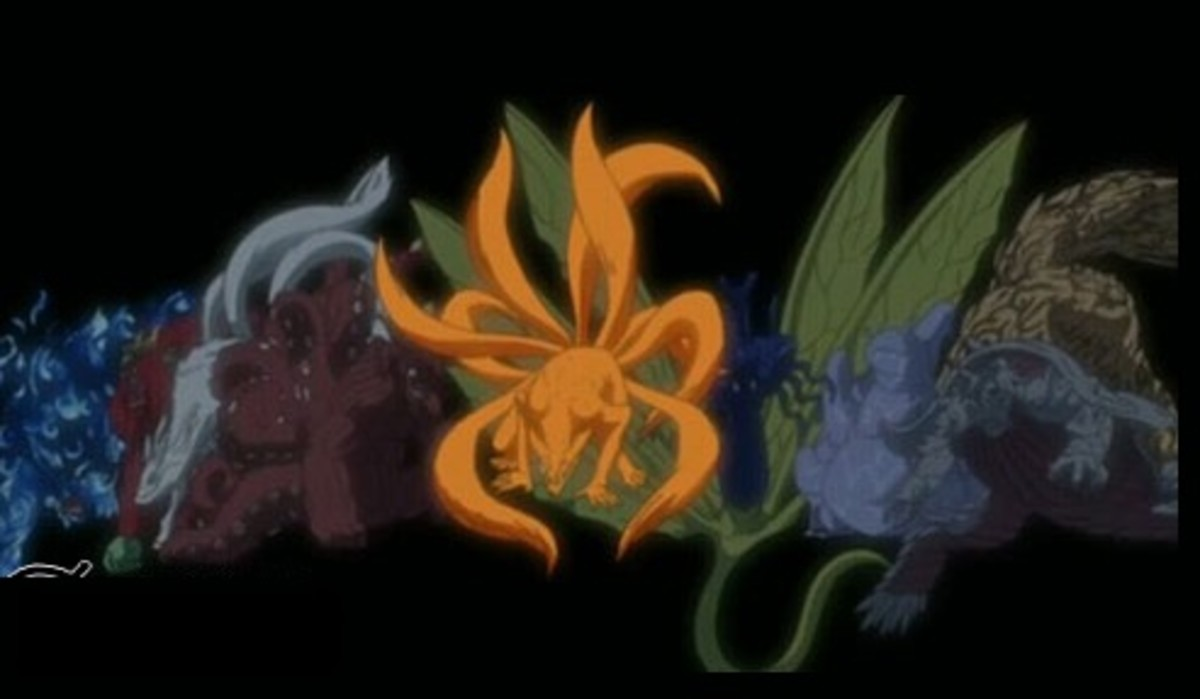 Naruto Most Powerful Creatures: Tailed Beasts