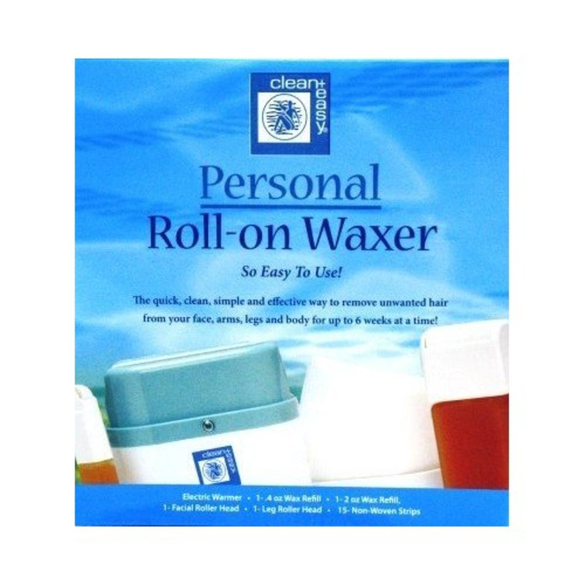 how to clean roll on waxer