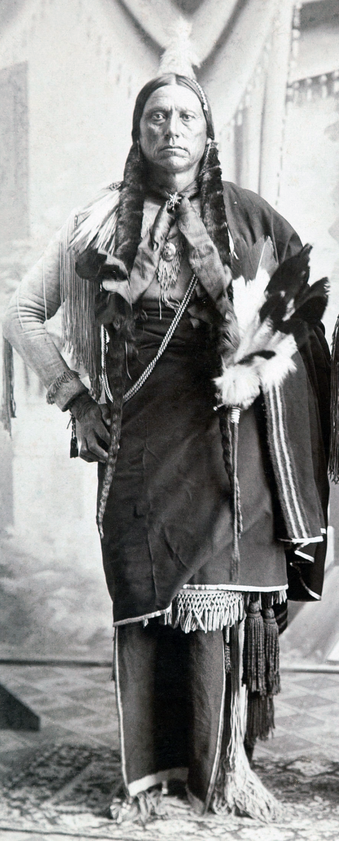 Quanah, last Chief of the Comanche.