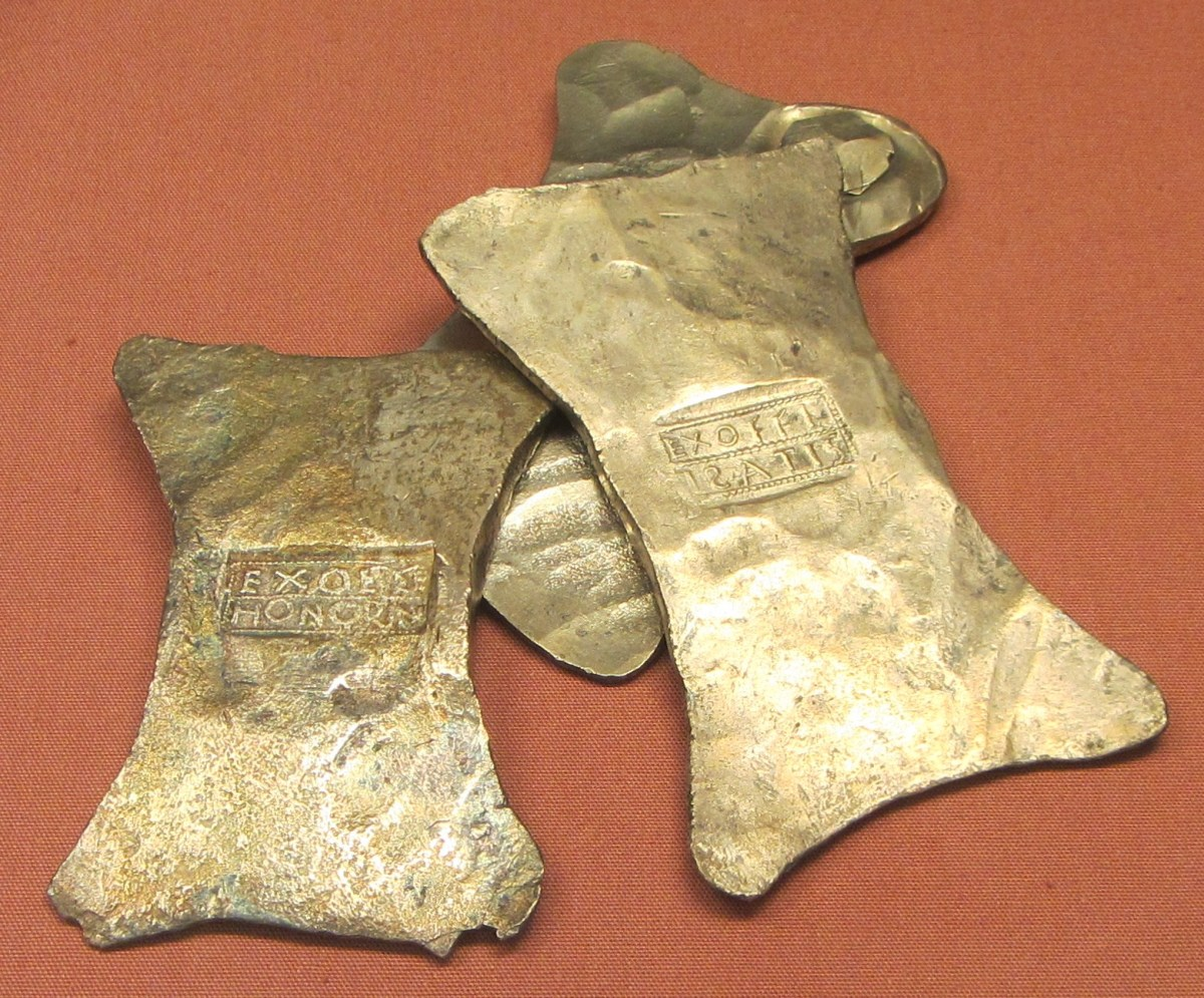 Roman era Silver mined from British Isle's