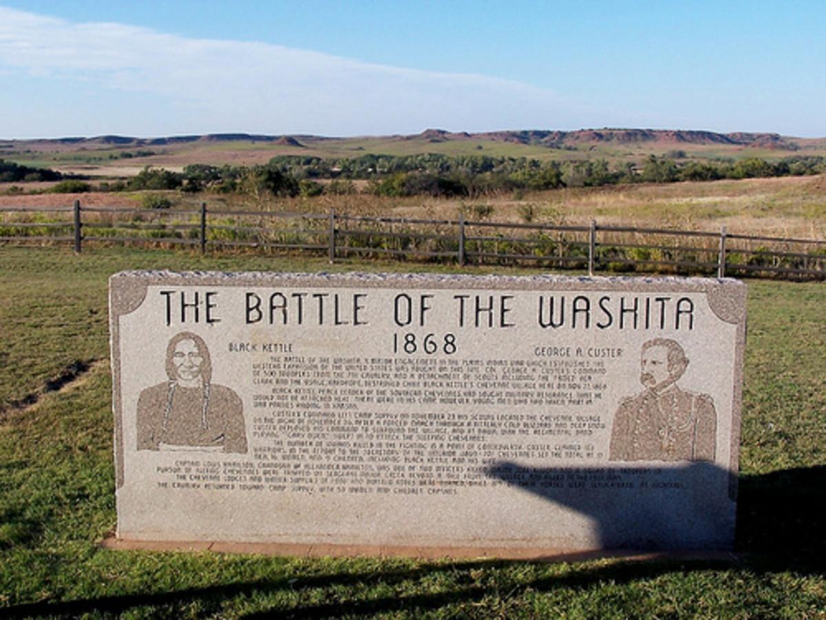 Unique Places in Oklahoma:The Washita Battlefield National Historic Site