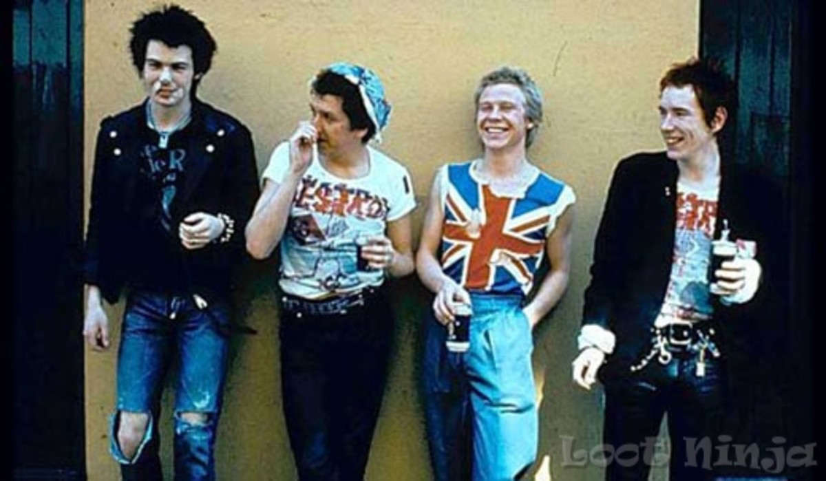 Actually formed in '75, the Sex Pistols were instrumental in starting Punk