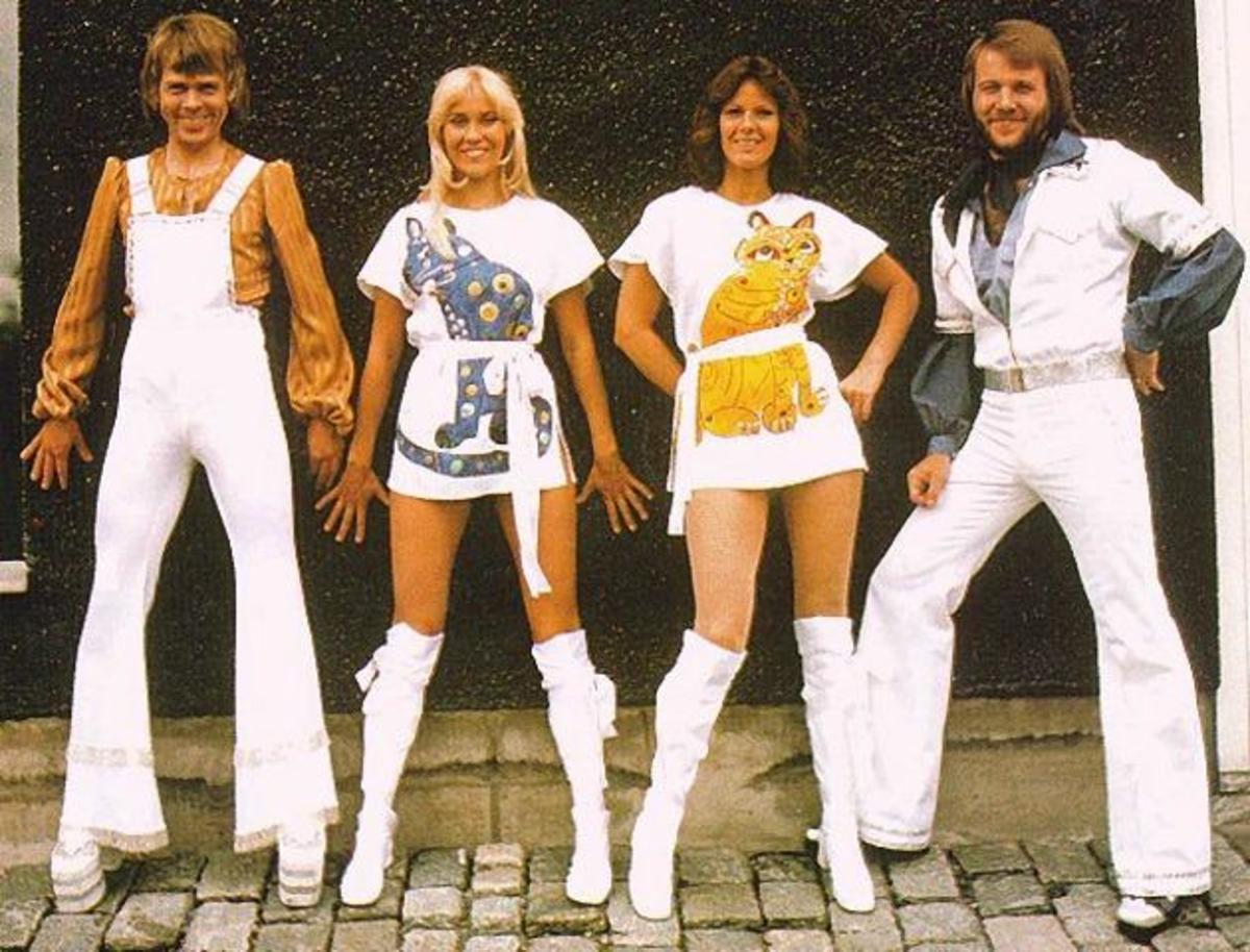 Abba's Agneta adorned many a young man's wall during this time although pictures of Abba nowadays have somewhat different connotations
