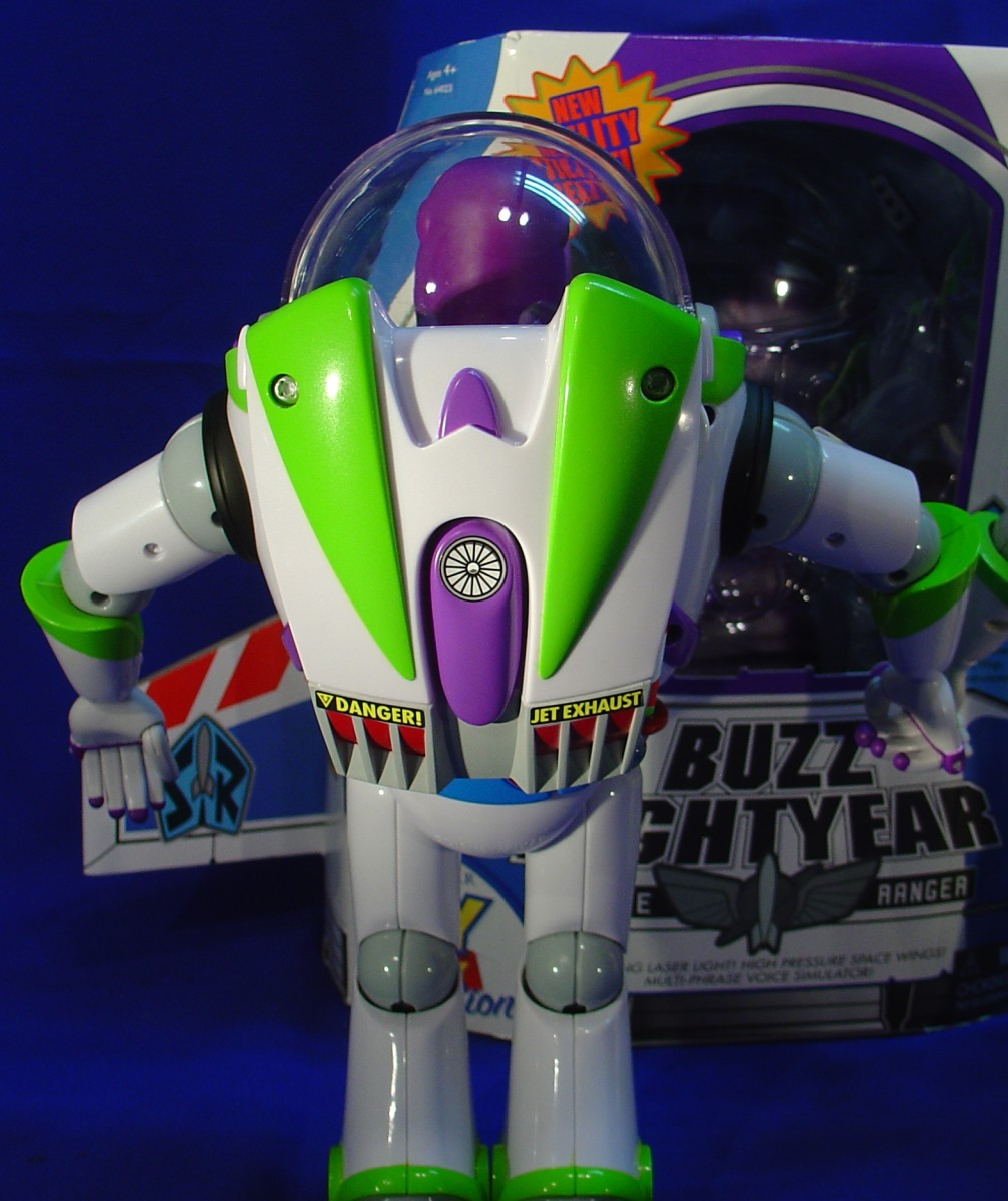To completely hide under the jetpack, just like in the Toy Story movie!
