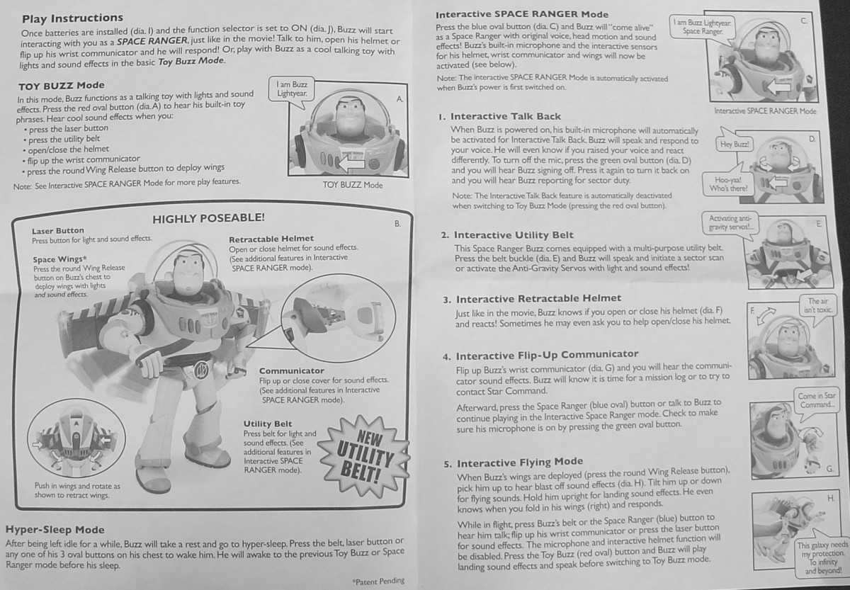 The instructions fold, the 2 pics above are the outside and inside pages.