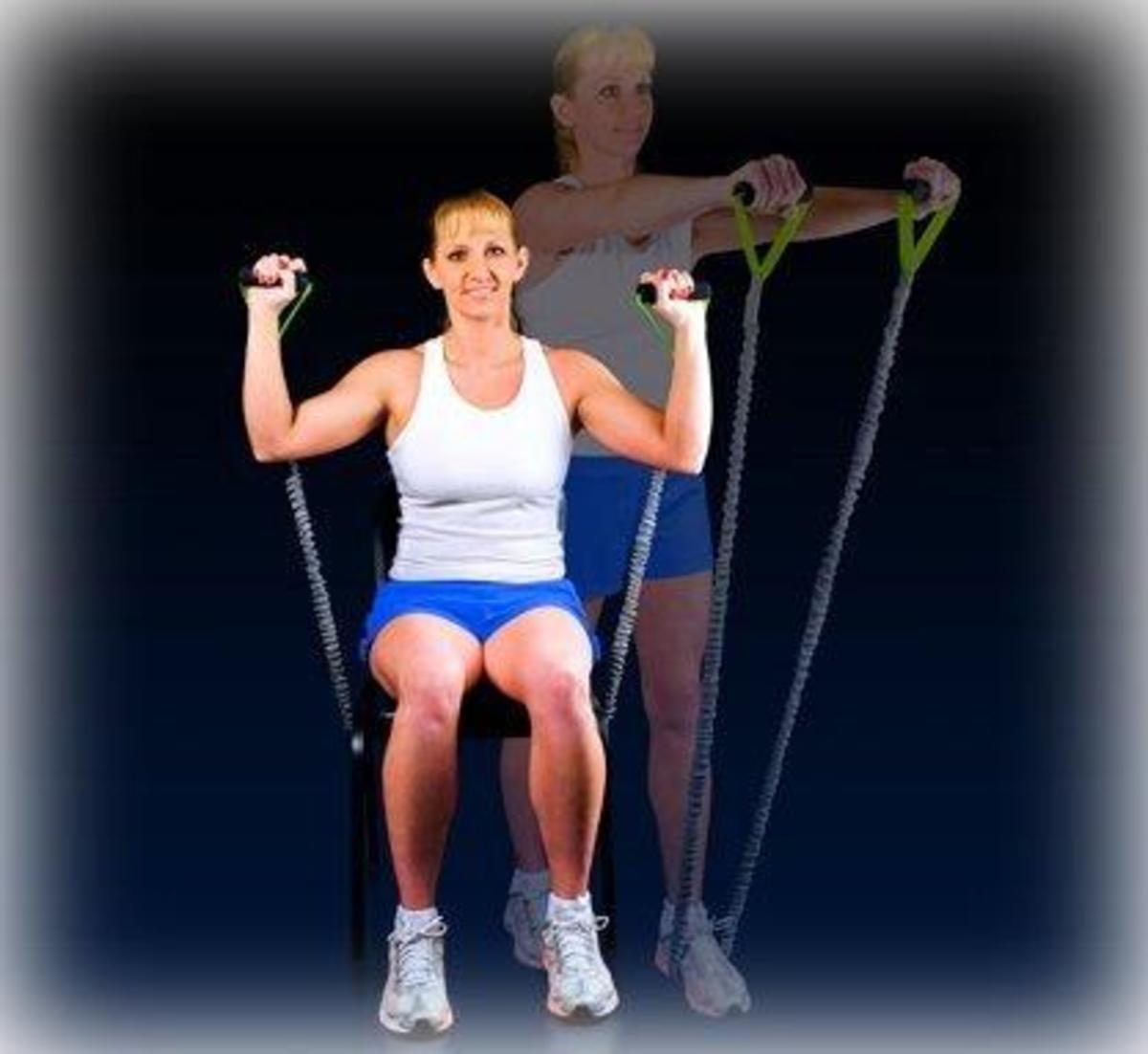 Example of Exercise Movement with Resistance Band